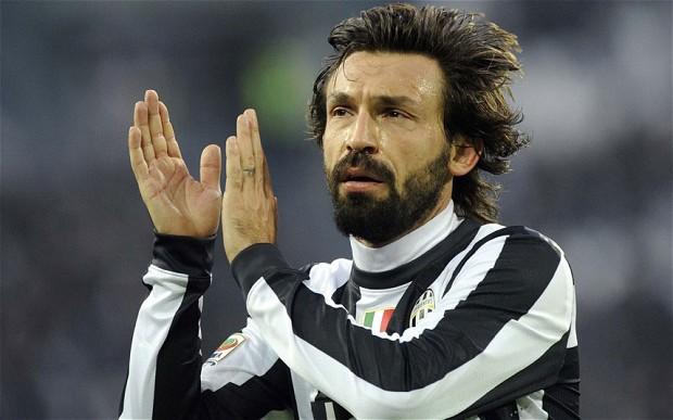 Andrea Pirlo ai tempi della Juventus. Ora il centrocampista interessa all'Inter