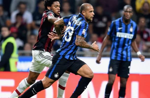 Felipe Melo e Kondogbia, centrocampisti dell'Inter
