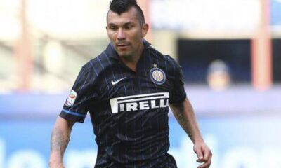 Gary Medel, centrocampista importantissimo per l'Inter di Mancini