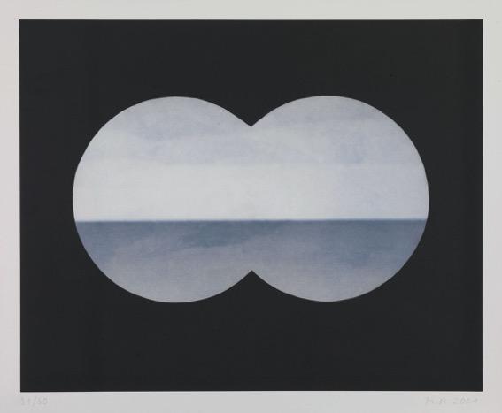 M.Raetz, Binocular view, 2001