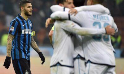Inter-Lazio e la festa biancoceleste