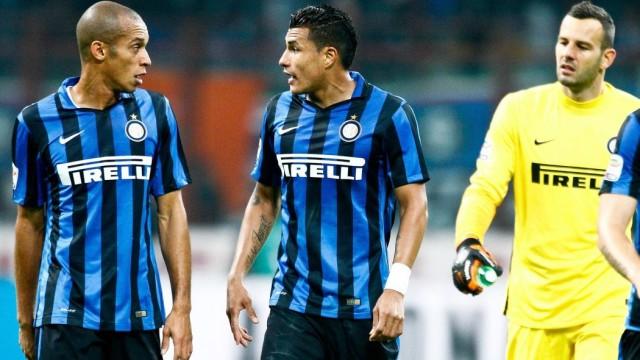 Miranda, Murillo e Handanovic, il muro dell'Inter