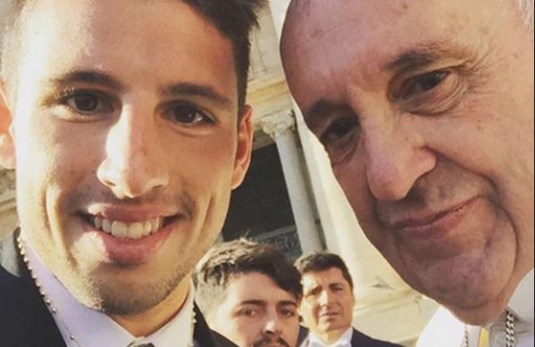 Selfie Calleri Papa