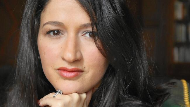 Zineb El Rhazoui, giornalista di Charlie Hebdo.