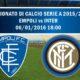 L'Inter gioca a Empoli il suo primo match del 2016