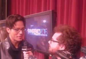 Festival di Sanremo, un noto giornalista intervista Garko