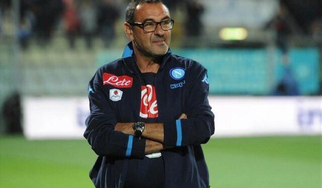 Maurizio Sarri tecnico del Napoli