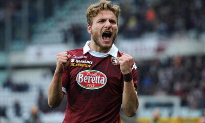 Ciro Immobile con la maglia del Torino