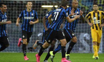 Verona-Inter è il lunch match della ventiquattresima giornata