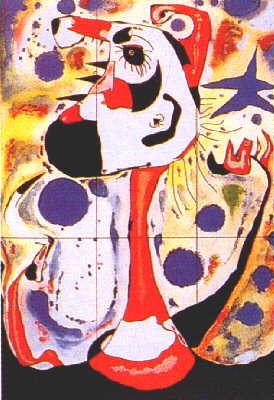 """Joan Miró, """"El segador"""" (Il mietitore), 1937"""