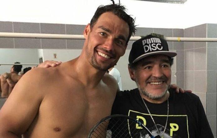 Fognini Maradona Argentina