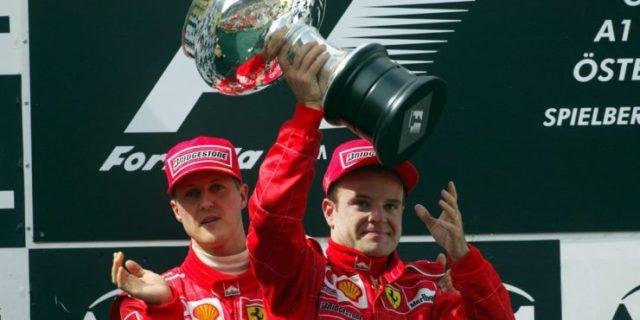 Barrichello ha accusato sia Schumi che la scuderia di averlo sfavorito nella corsa ai mondiali