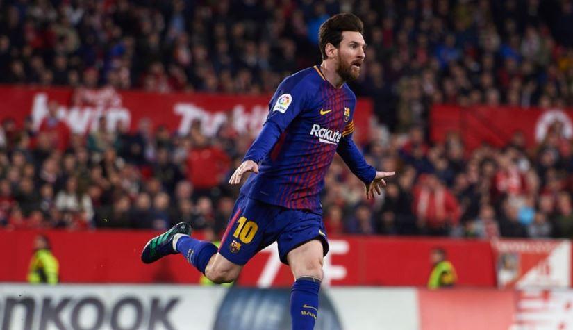 Lionel Messi in Italia
