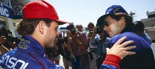 Con Senna, Rubens Barrichello ha avuto un rapporto viscerale