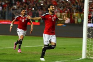 Salah ha segnato 33 reti con la maglia della sua nazionale
