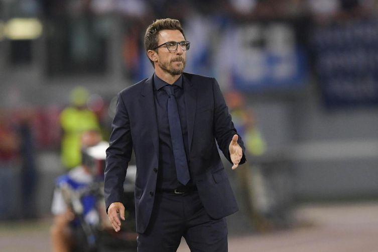 Eusebio Di Francesco, allenatore della Roma