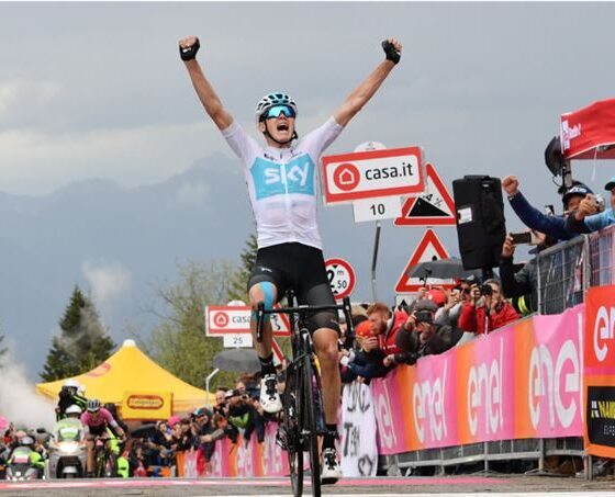 Froome Giro d'Italia 2018
