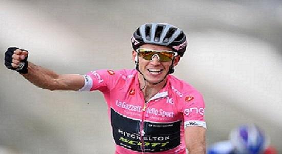 Yates maglia rosa Giro d'Italia 2018