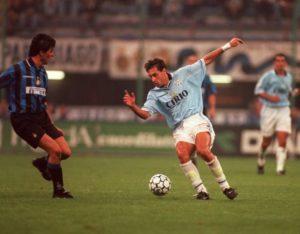 Diego Fuser, protagonista nella Lazio degli anni '90