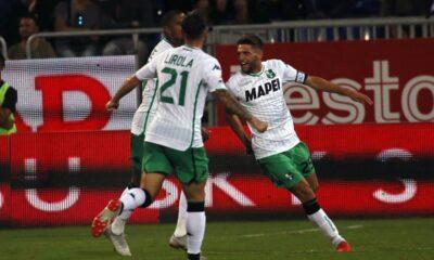 Sette punti in tre gare per il Sassuolo di De Zerbi