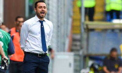 Roberto De Zerbi, allenatore del Sassuolo