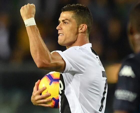 Cristiano Ronaldo spinge la Juve in testa alla classifica virtuale della Serie A