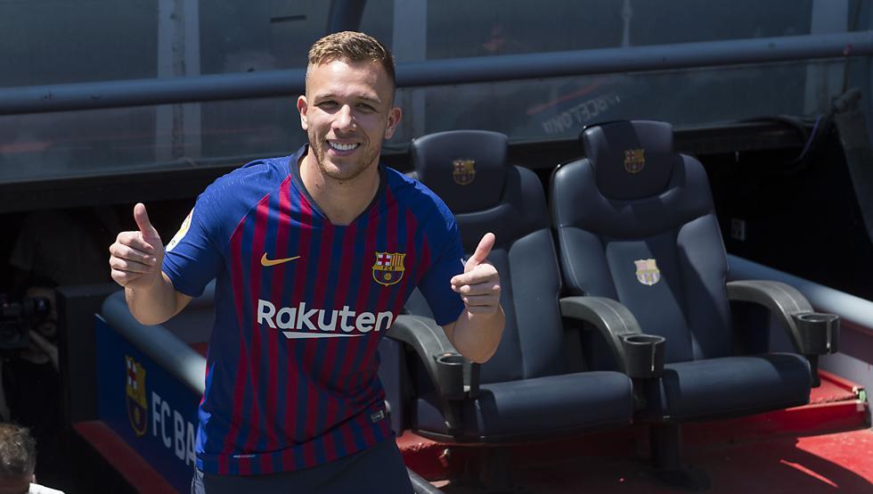 Arthur Melo, centrocampista del Barcellona
