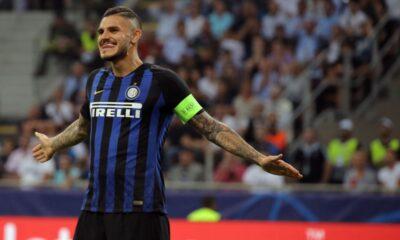 Mauro Icardi capitano Inter esultanza