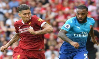 Lacazette contro Firmino: sfida clou di Arsenal-Liverpool