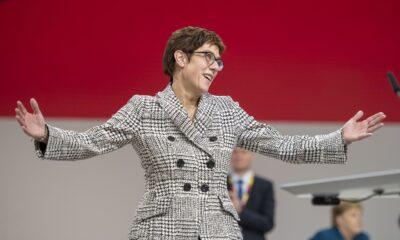 Annegret Kramp-Karrenbauer, leader della CDU