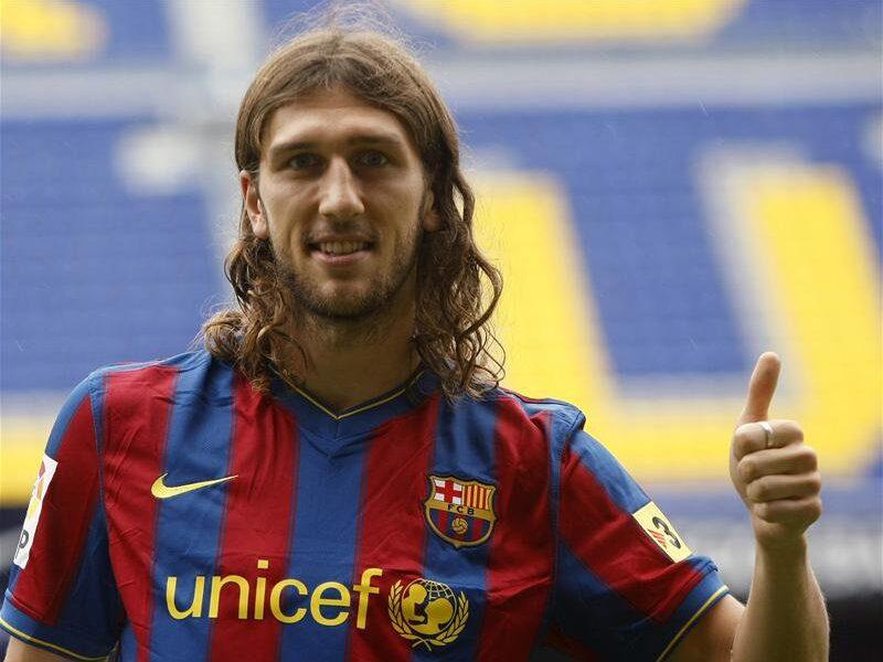 Chygrynskiy, il flop del Barcellona nella stagione 2009/2010