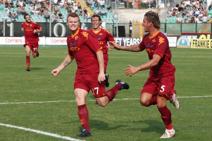 Riise fu decisivo nella prima vittoria della Roma di Claudio Ranieri