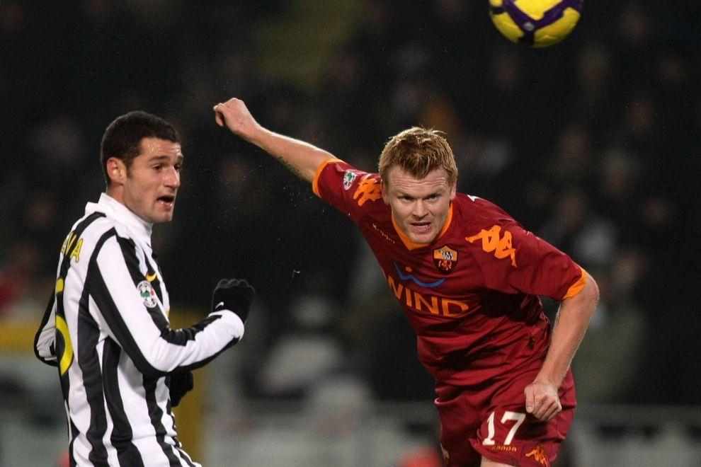 John Arne Riise, 11 reti in 3 stagioni con la maglia della Roma