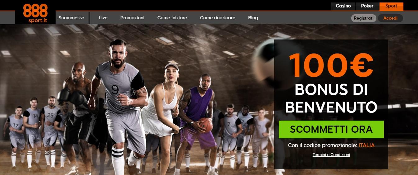 La recensione completa di 888Sport, bookmaker 888.it