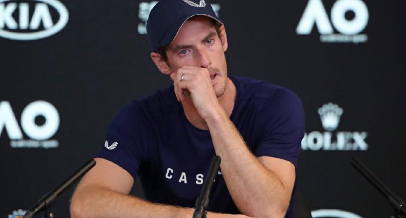 Il tennista britannico Andy Murray