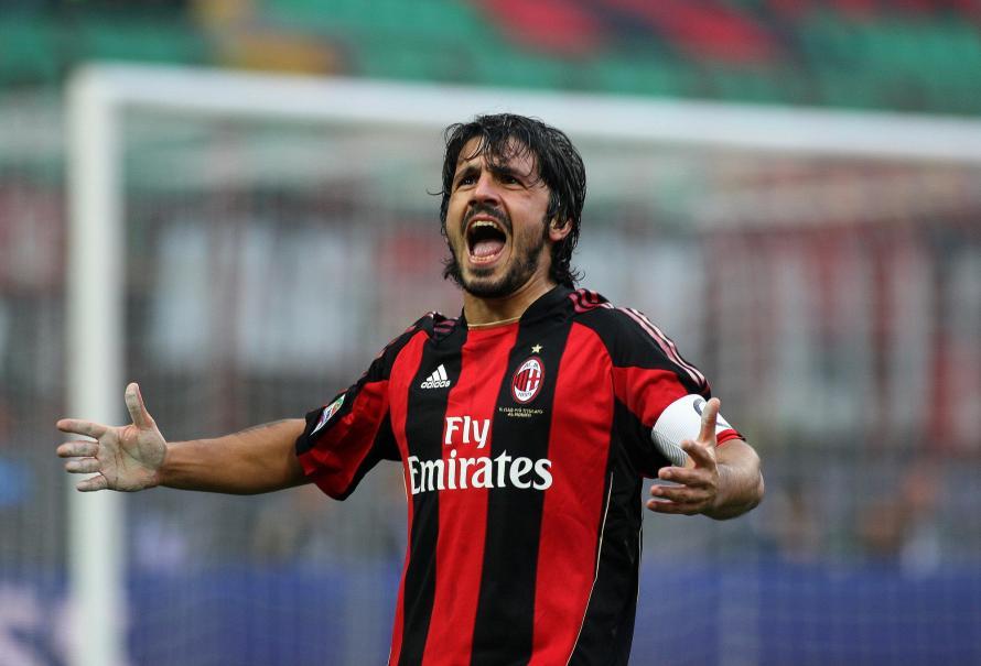 Gennaro Gattuso ex giocatore e attuale allenatore del Milan