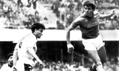 Marco Baroni gol Napoli Lazio
