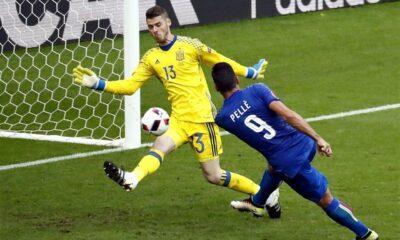 Pellè segna alla Spagna