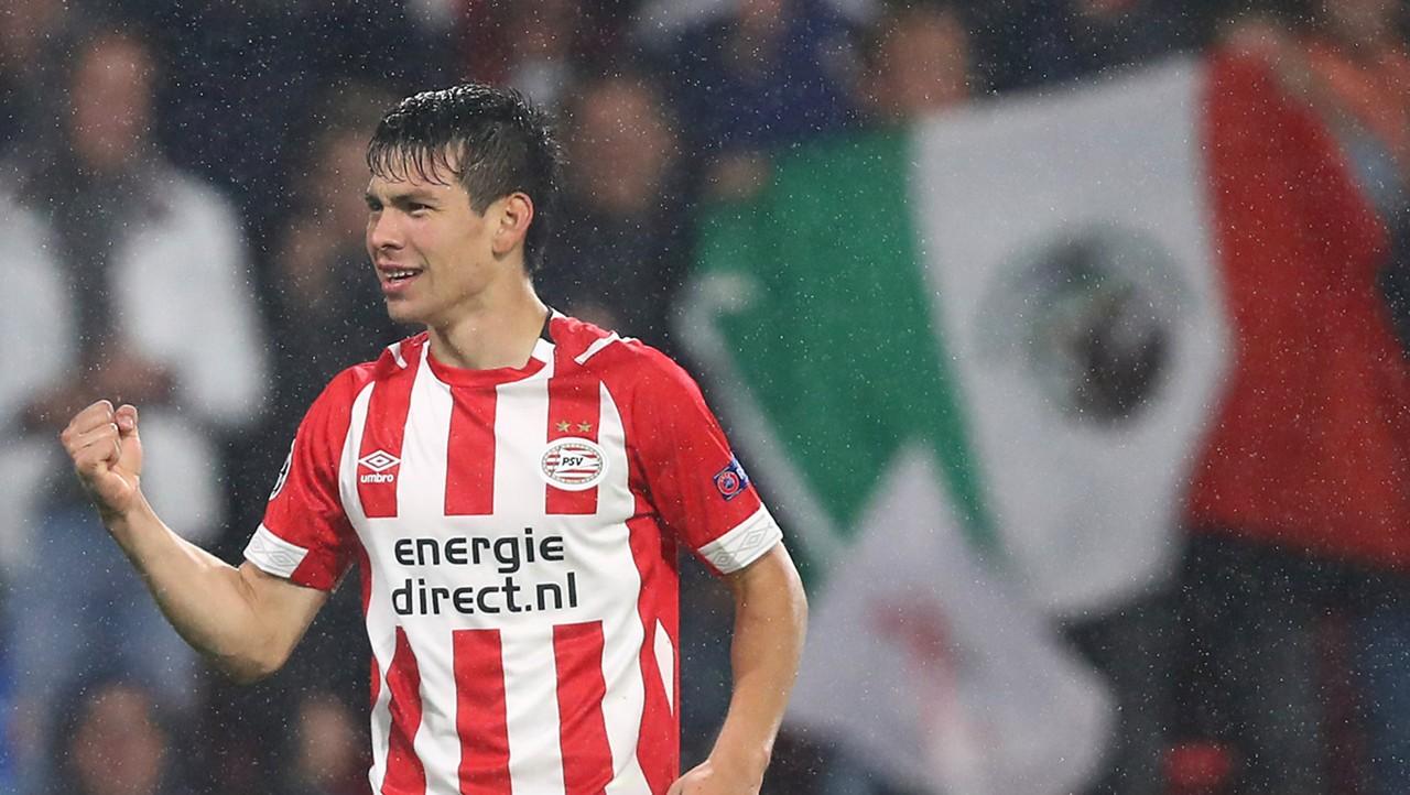 Hirving Lozano, giocatore del PSV Eindhoven
