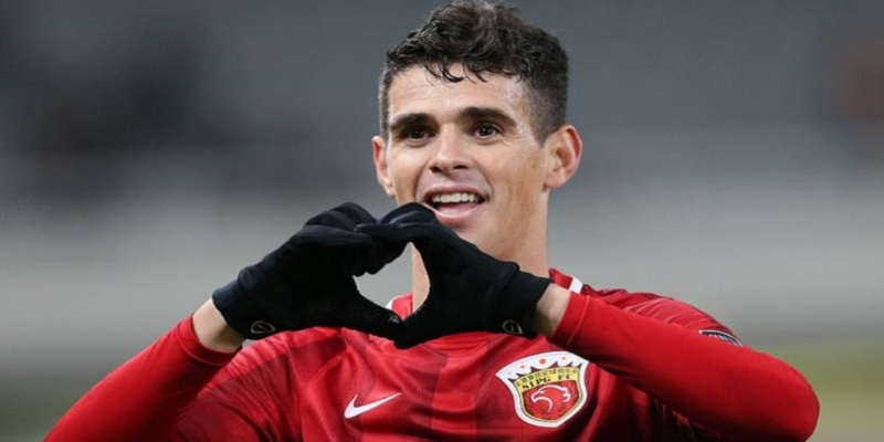 Oscar dos Santos Emboaba Júnior ha scelto la pensione dorata di Shanghai