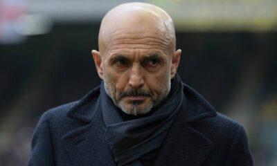 Spalletti sulla panchina dell'Inter