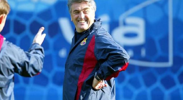 Radomir Antic ai tempi in cui allenava il Barcellona