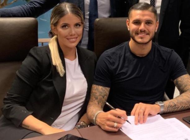 Icardi e Wanda Nara firmano il contratto con il Paris Saint Germain