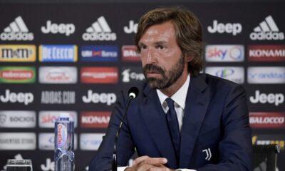 Andrea Pirlo allenatore della Juventus