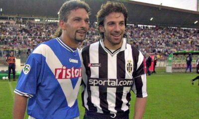 Baggio-Del Piero: amici rivali