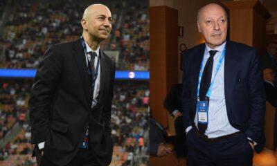 Inter-Milan: Gazidis e Marotta scontro totale