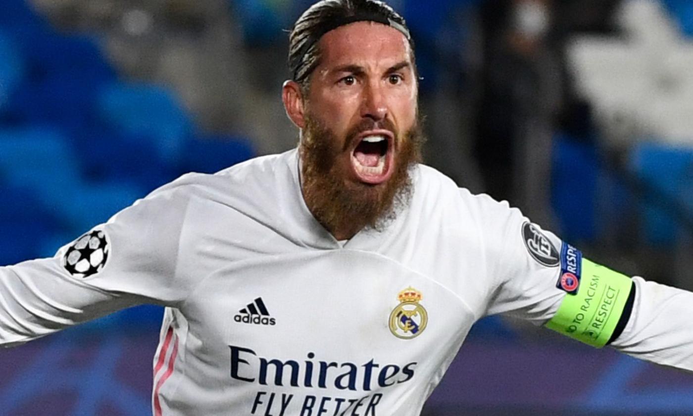 Sergio Ramos, idea Inter a parametro zero per la difesa