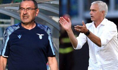 Sarri-Mourinho: come finirà Lazio-Roma?
