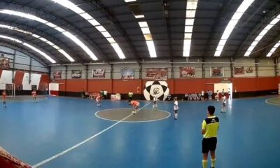 Banfield -Gimnasia calcio a cinque Serie B argentina femminile - Photo by SkySport