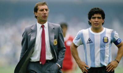 Carlos Bilardo e Diego Maradona